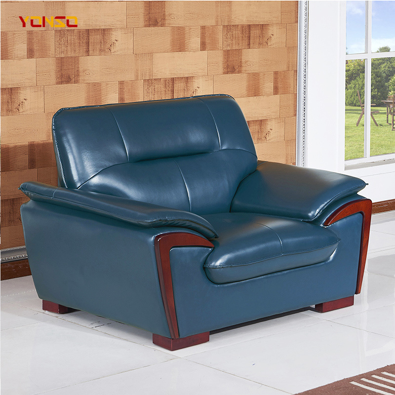 China Blue Leather Sofa Furniture Set Photos Pictures Made In