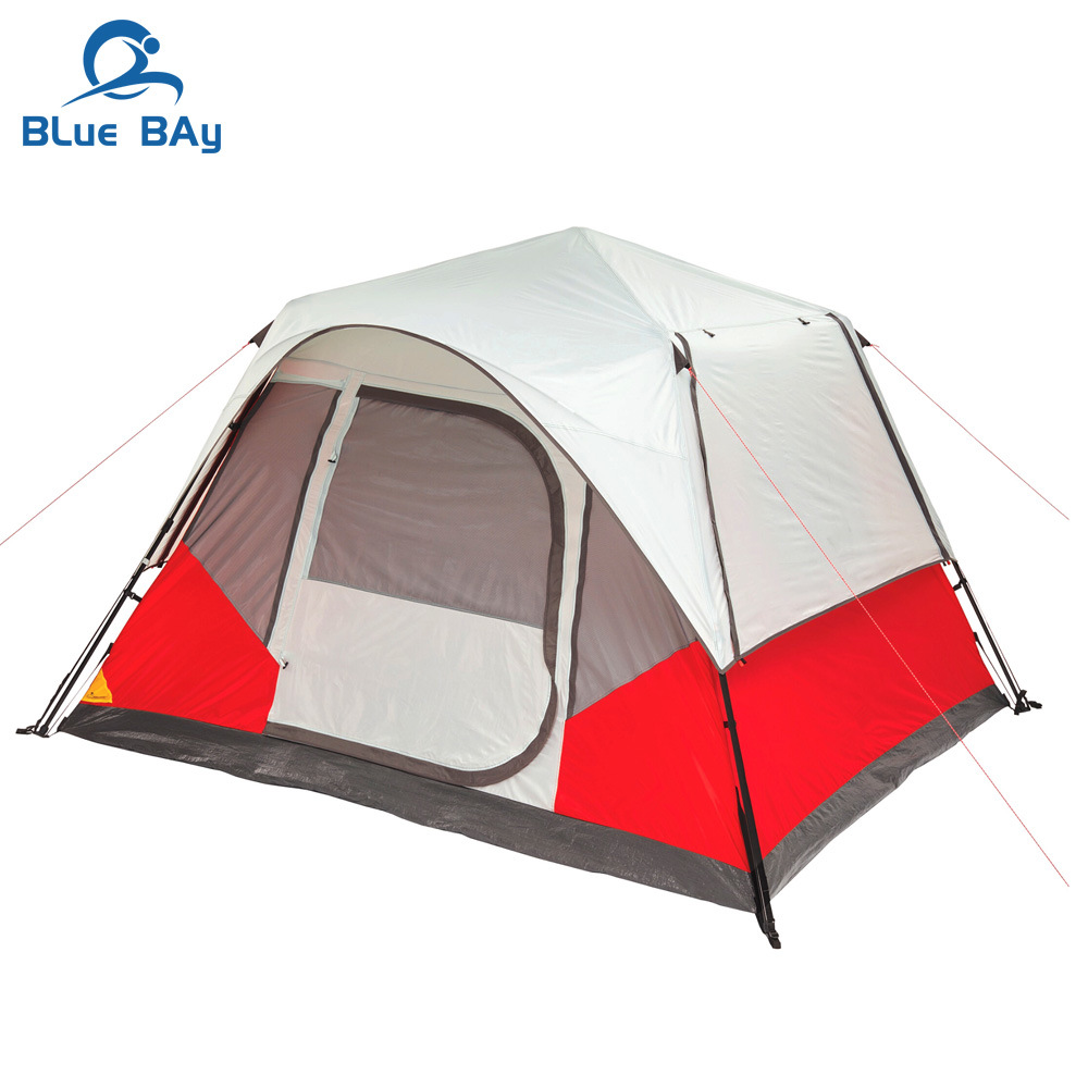China Bluebay 6 Person Instant Family Camping Tent Easy ...