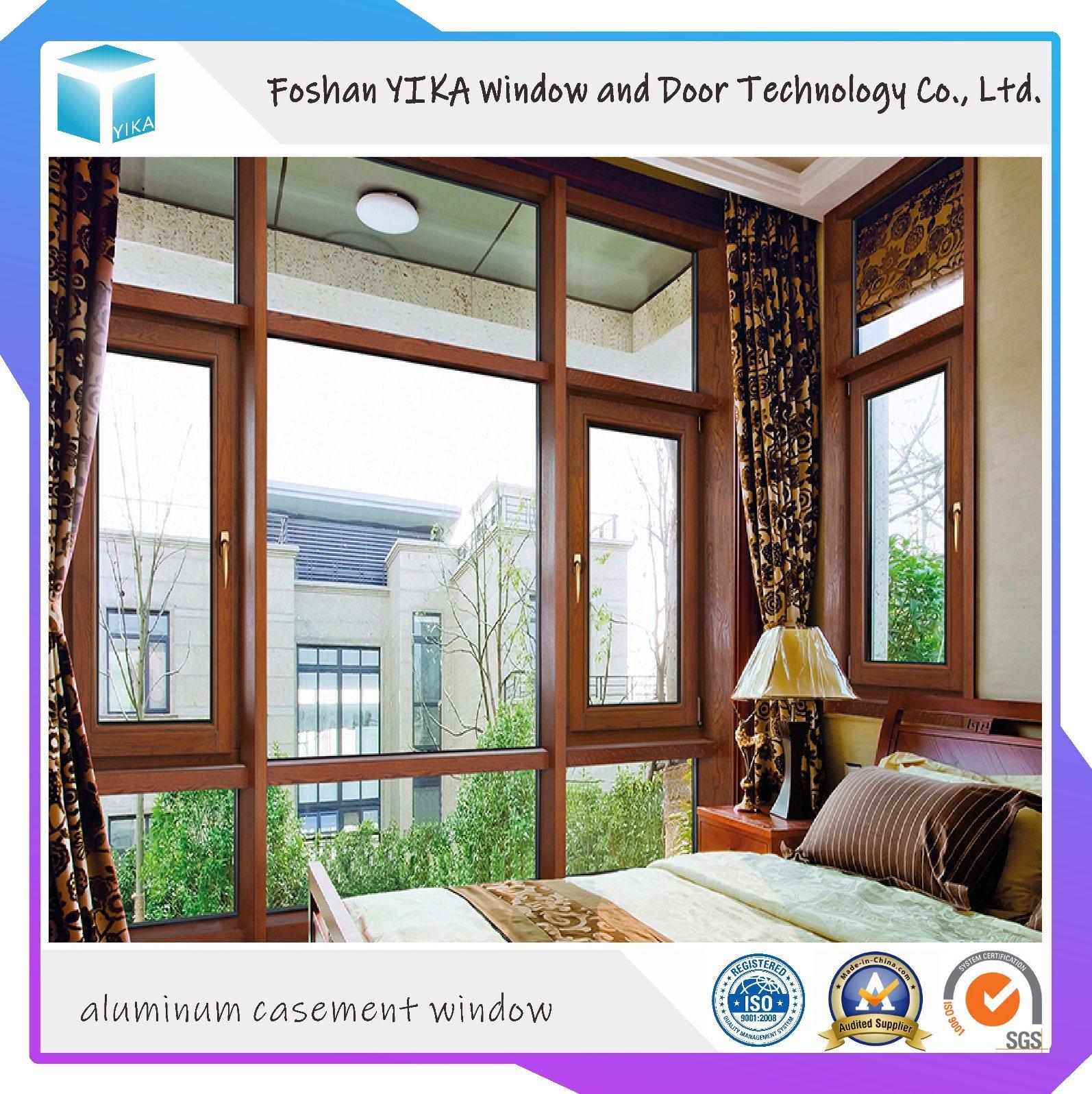 China Double Glazing Thermal Break Aluminum Casement/ Tophung/ Tilt