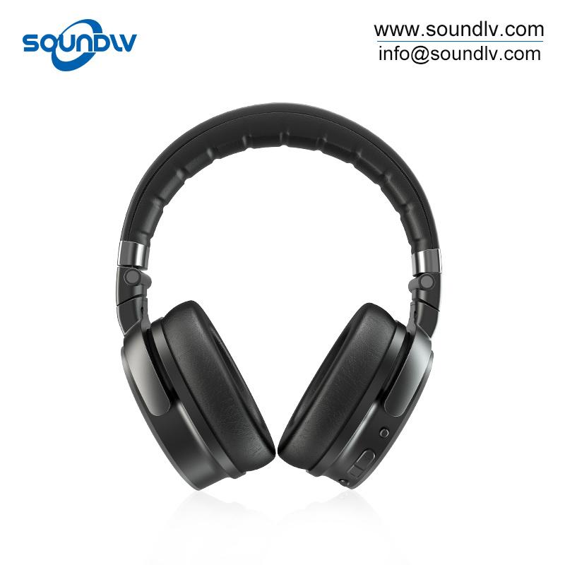 China Factory Best Wireless Headset Bluetooth Headphones With Mic For Pc China Headphones With Mic For Pc And Pc Headset With Mic Price