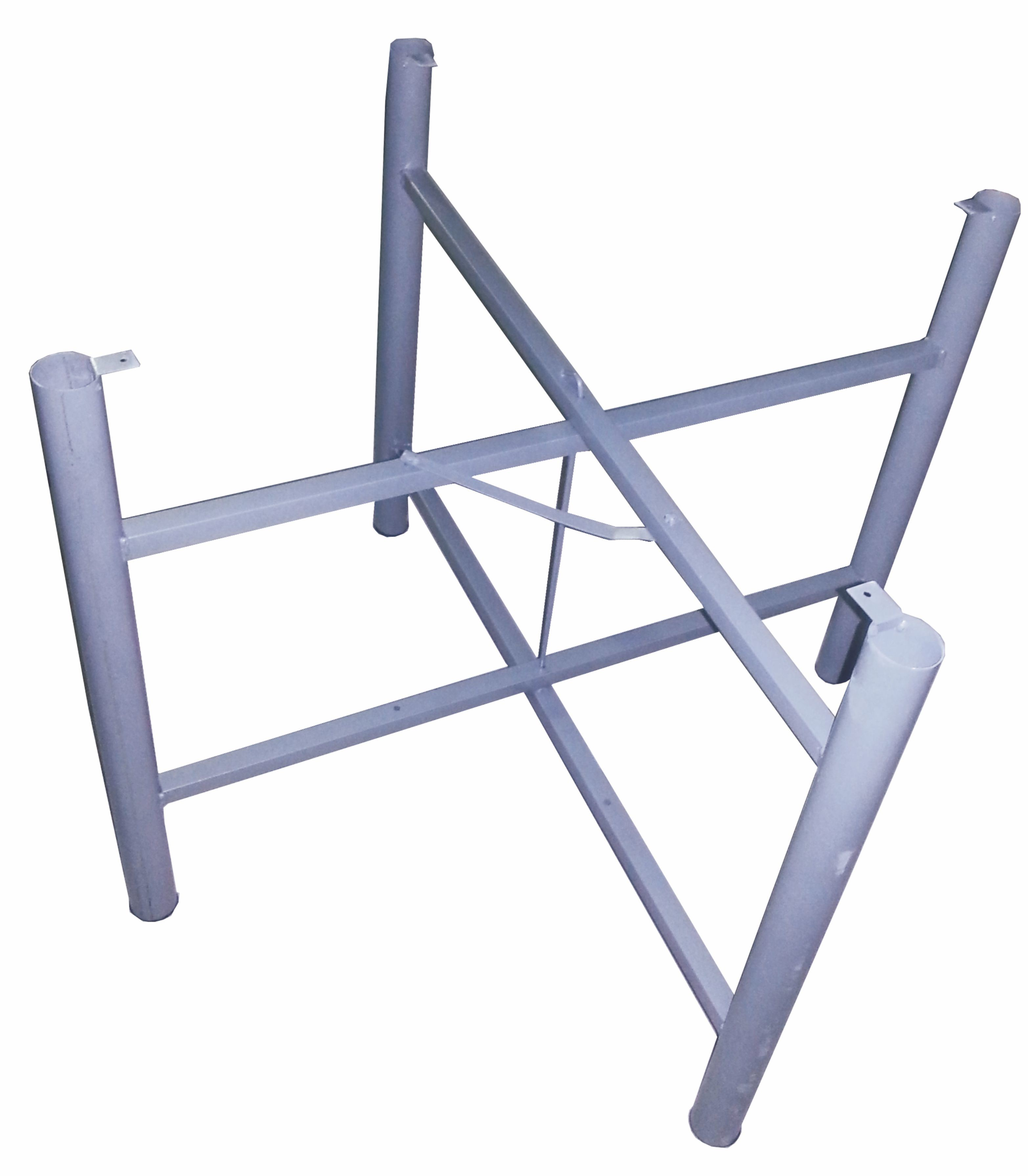 - China Wholesale Cheap 50 Round Pipe Metal Iron Foldable 4 Legs