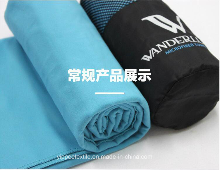80%Polyester 20%Polyamide Microfiber Sports Towel pictures & photos