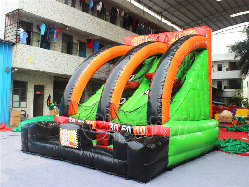 Outdoor Sport Game Inflatable Basket Ball Hoop for Adults pictures & photos