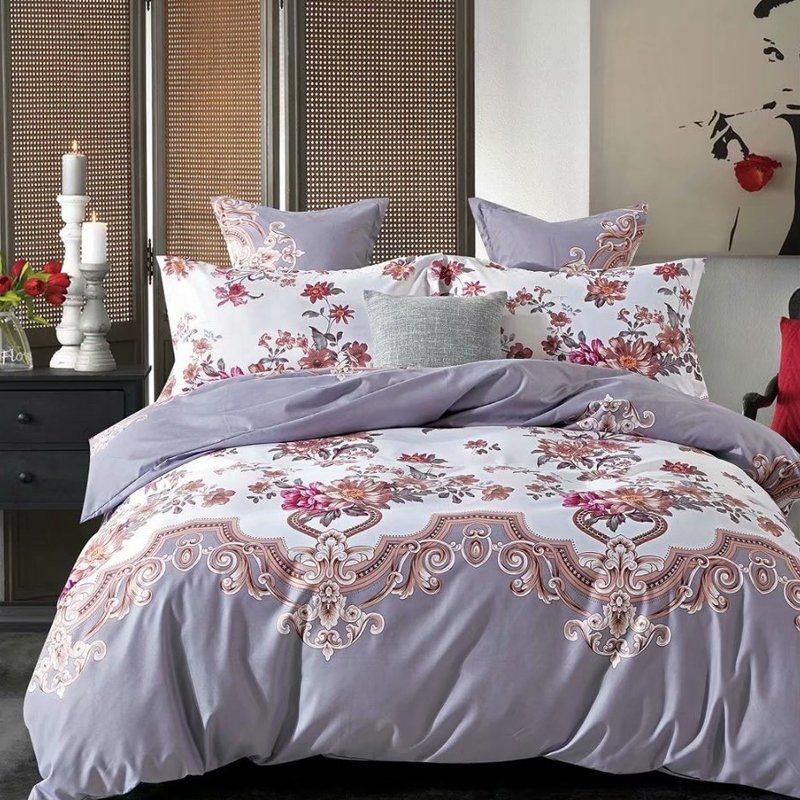 China King Size 3d Bedding Set Super, White Super King Size Bedding Set