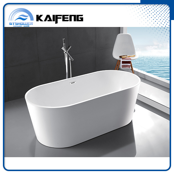 Ellipse Acrylic Plain Bathtub (KF-715B) pictures & photos