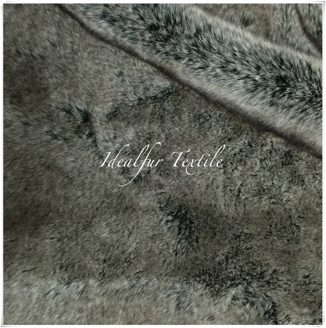 Faux Fur Animal Long Pile Fabric 3 Tones