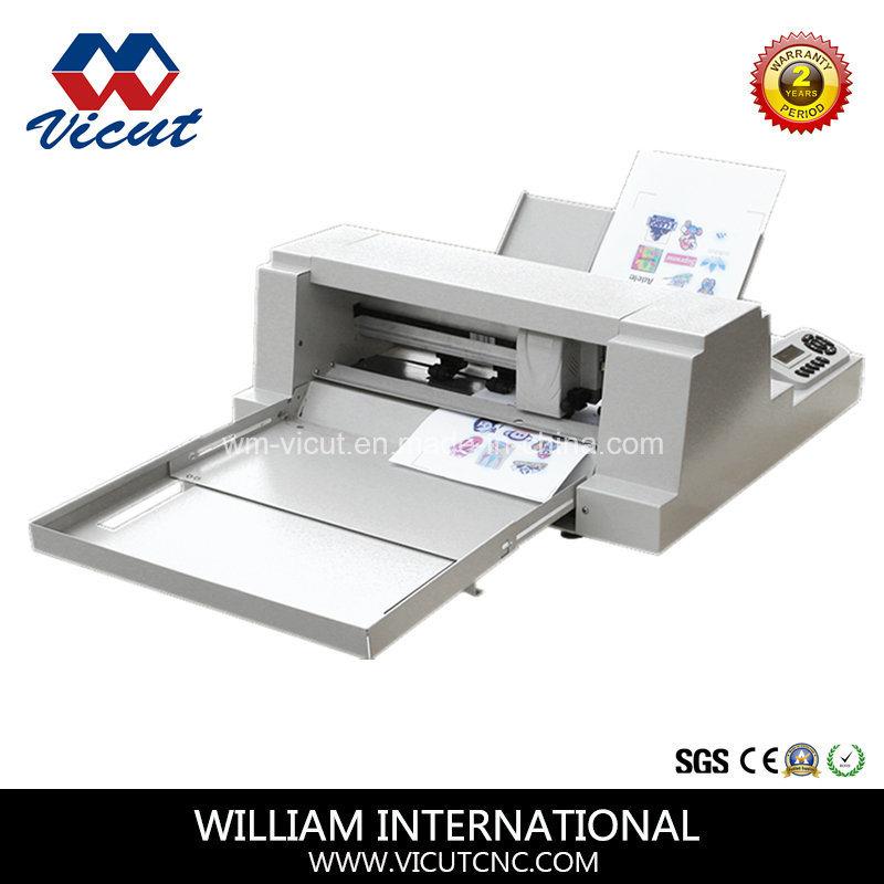 China Small Desktop Sheet Label Cutting Machinery Automatic Machine