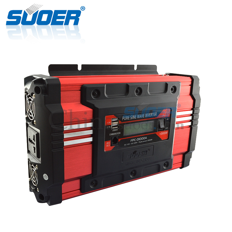 Suoer High Frequency 12V 1000W Pure Sine Wave Power Inverter (FPC-D1000A) pictures & photos