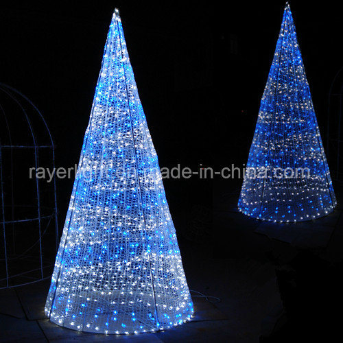 Hot Item Canada Led 5m Lighting Cone Christmas Ornaments Christmas Tree Lights