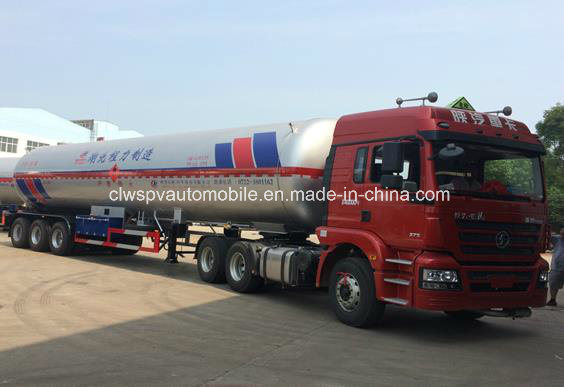 60 Cbm M3 Liquefied Gas Tank Trailer 60000 Liters LPG Transport Truck