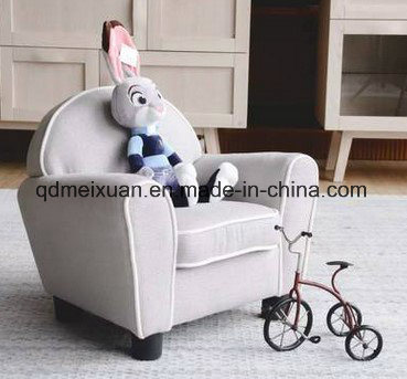 Hot Item American Single Children Small Green Cloth Art Sofa Chair Sitting Room Bedroom Combination Cartoon Couch M X3675
