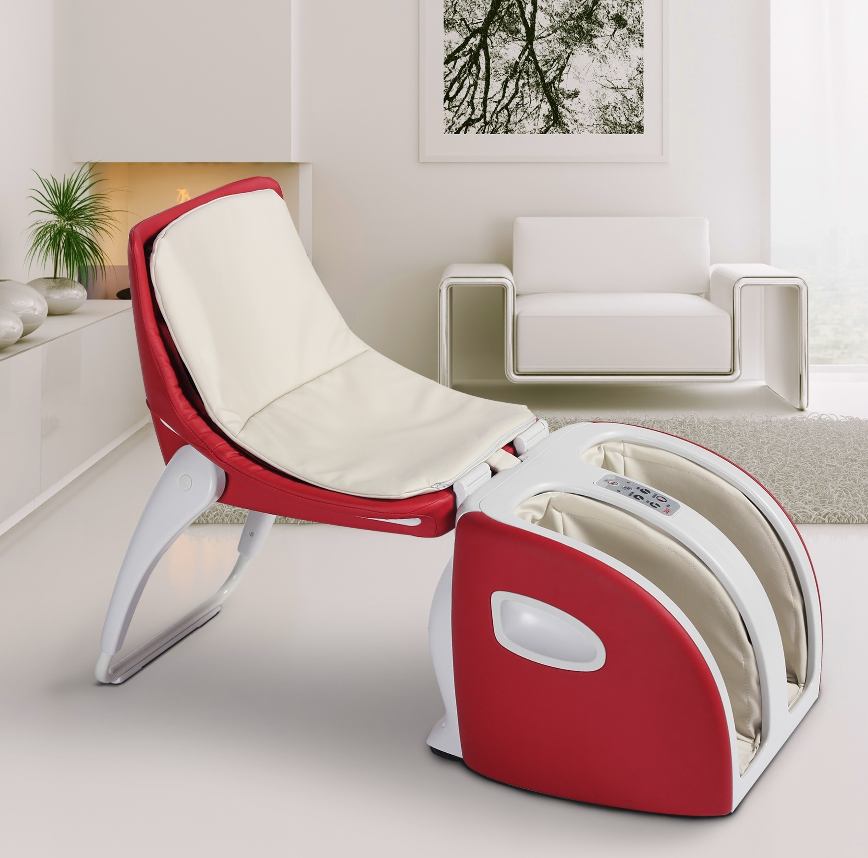Comfortable Body Massager Mini Household Massage Chair