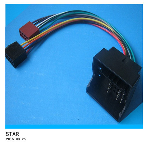 china professional factory customize automotive bmw iso wiring rh starconnect en made in china com bmw professional radio wiring diagram