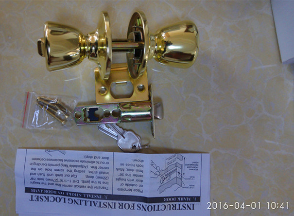Door Lock, Knob Lock, Indoor Door Lock Al-Sg6073SA pictures & photos