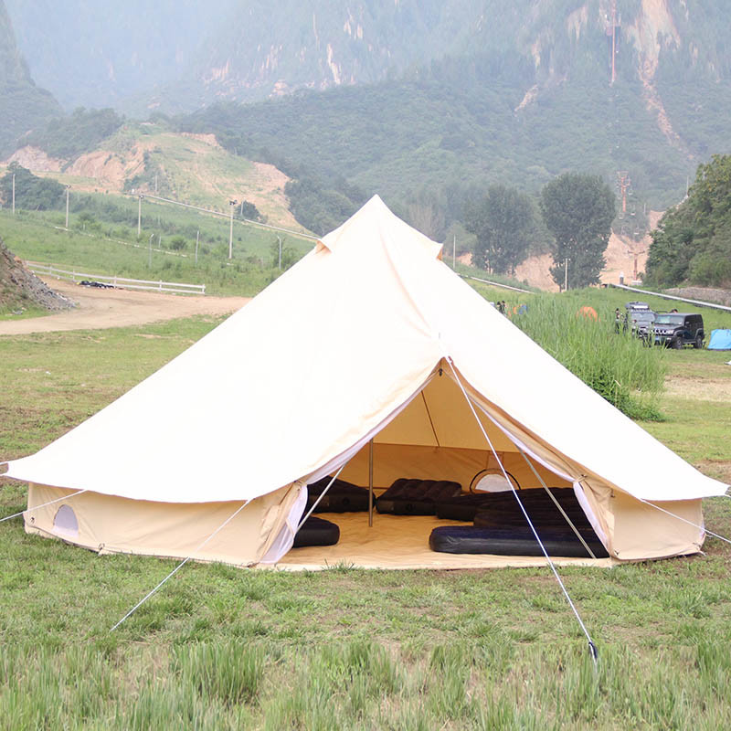 cheaper 4afdf 5885f [Hot Item] OEM Cheap Waterproof Cotton Canvas Outdoor Teepee Tent Adults