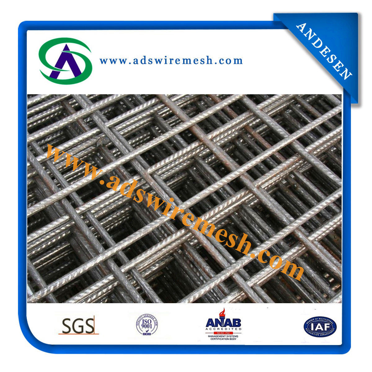 China Concrete Welded Wire Mesh Fencing - China Steel Wire Mesh, Wire
