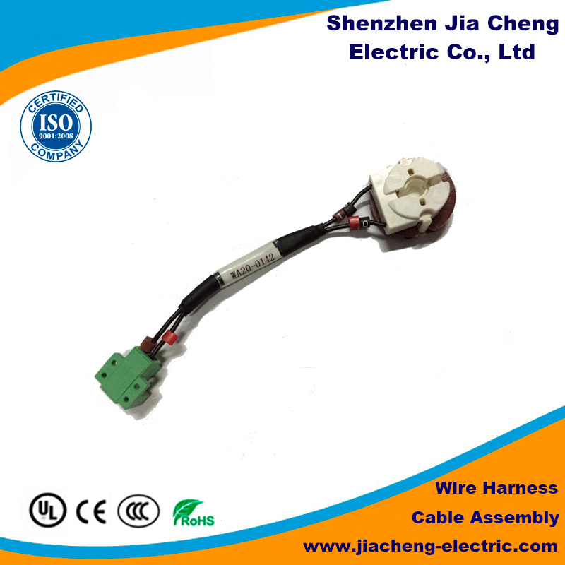 China Motorcycle Wiring Harness Connector Computer Cable