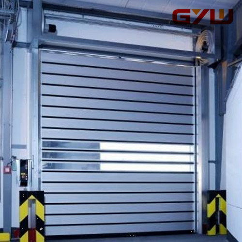 Automatic Hard-Metal Rolling Door for Cold Storage pictures & photos
