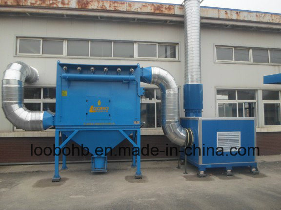 Loobo Manufacture Industrial PTFE Cartridge Filtration Dust Collector, Welding Grinding Fume Extractor, Air Ventilation System pictures & photos