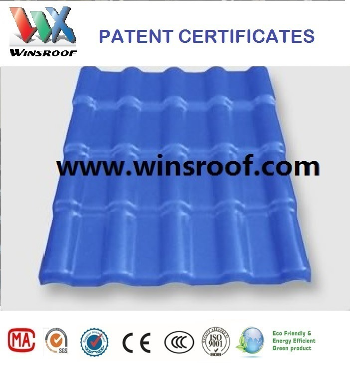 Wins ASA Synthetic Resin Roofing Sheet