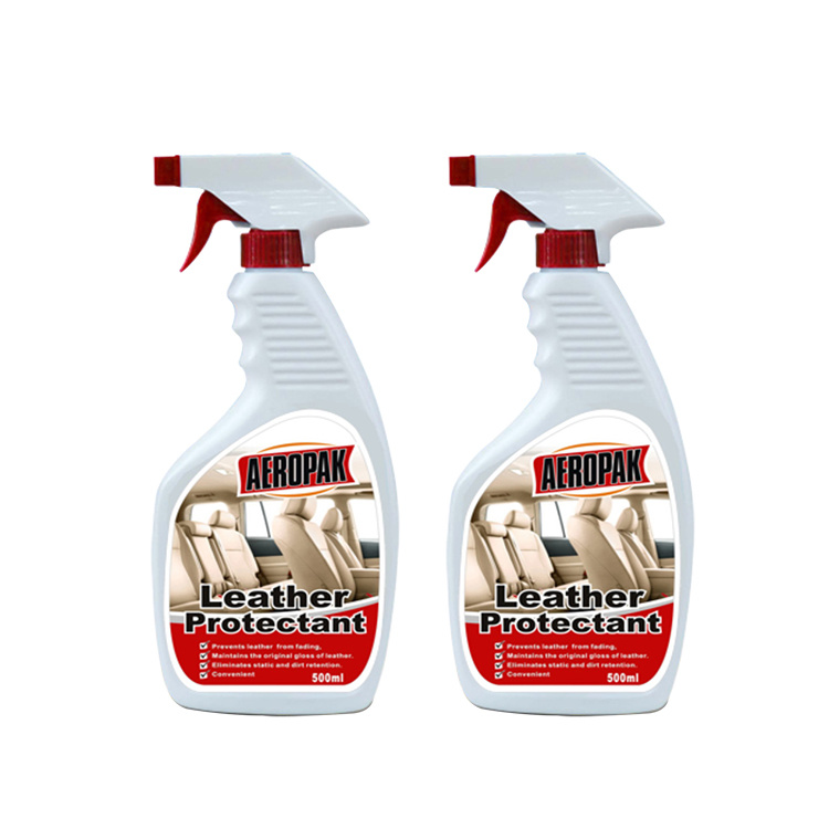 China Whole Leather Cleaner And Polish Spray For Car Seats