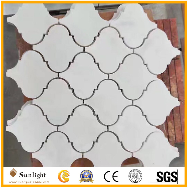 China Carrara White Marble Stone Small