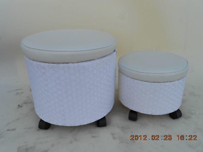 China Paper Storage Pouf With Wheels China Storage Ottoman Stool Stunning Pouf On Wheels