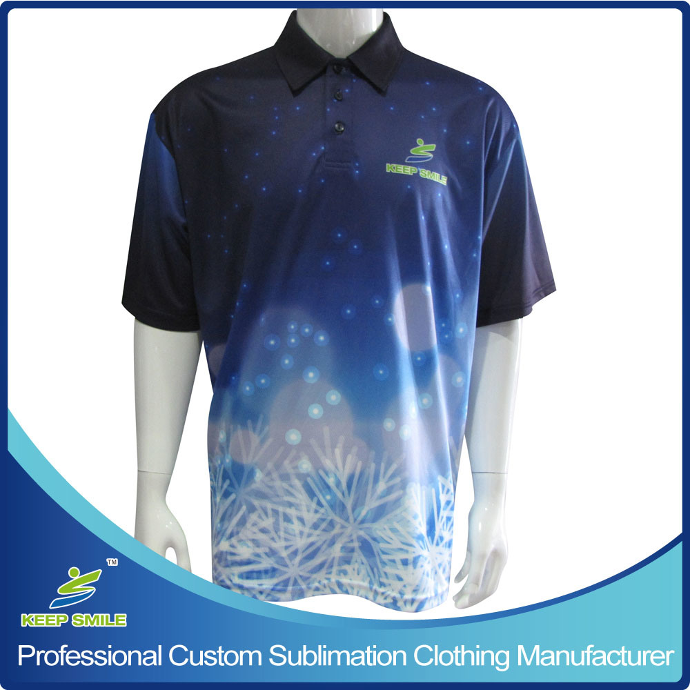 9c6c0e0c7ab China Custom Designed Full Sublimation Premium Sports Apparel Polo Shirt  with Chest Logo - China Sports Shirts
