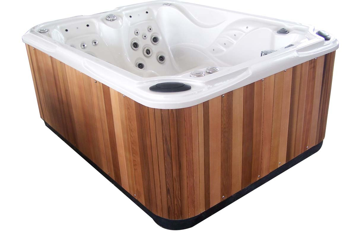 China 2100mm 3 People Cheap Outdoor Hot Tub SPA - China 3 People ...
