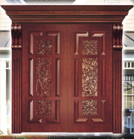 China Solid Wood Main Door China Solid Wood Door Mdf Door