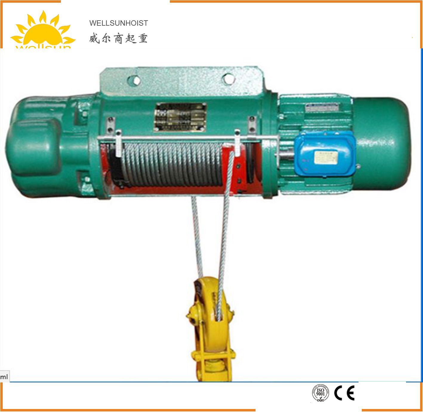 China OEM, Fixed Mode CD1 & MD1 Electric Wire Rope Hoist ...