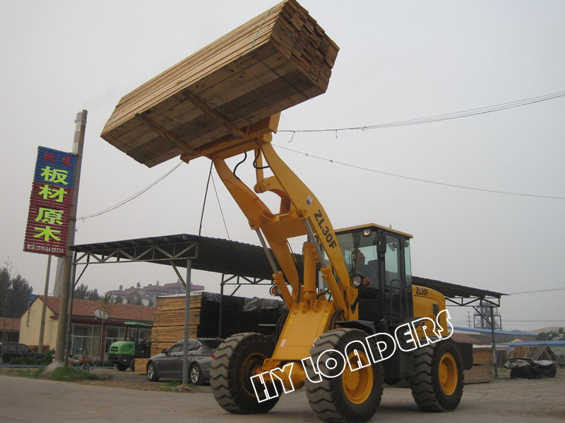 Multi-Function Wheel Loader with Pallet Fork (ZL30)