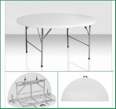 60 in. Round Plastic Folding Table (SY-152ZY)