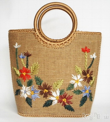 China Handmade Embroidery Hand Bag China Embroidery Handmade