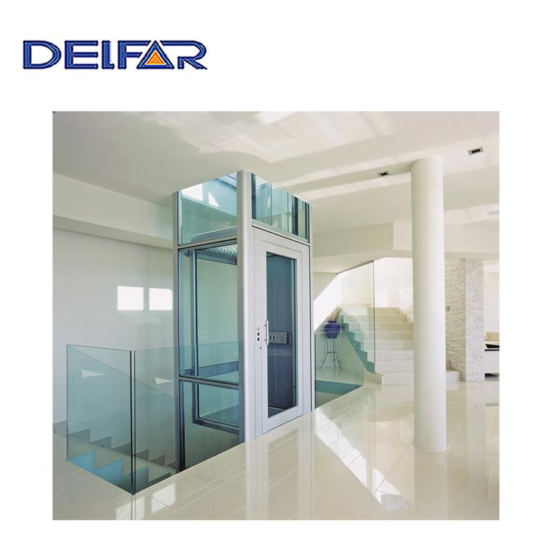 China Delfar Cheap Villa Elevator Home Lift with Good Quality ...