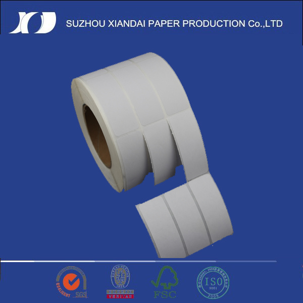 [Hot Item] The Most Popula Rheat Transfer Label Wax Paper Labels Non  Thermal Label Printer