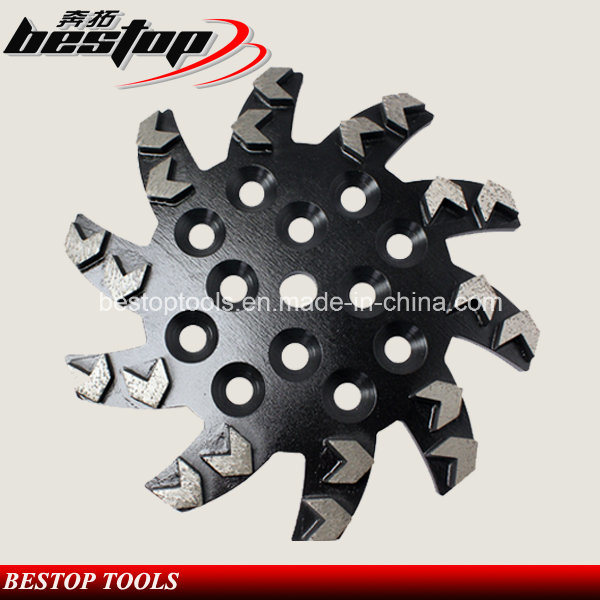 D250mm Arrow Segment Diamond Grinding Disc/Abrasive Grinding Wheel