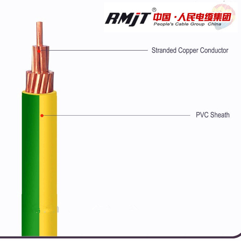 China Electrical Wire Cable Y/G Grounding Wire Copper Wire with PVC ...