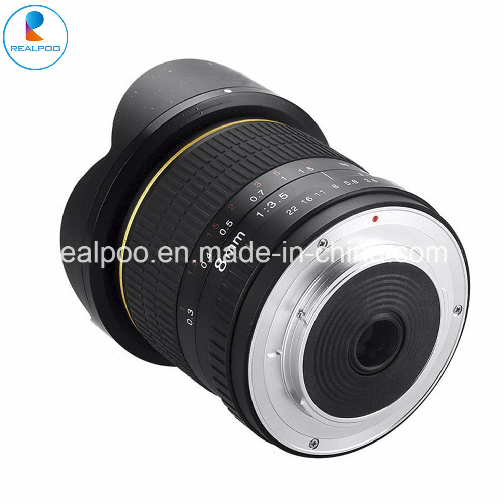 Hot Selling 8mm F3.5 Fisheye Lens for All DSLR Camera pictures & photos