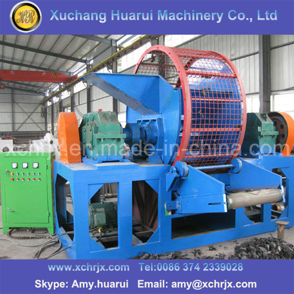 Automatic Waster Tyre Recycling Line/Rubber Powder Machine/Tyre Crushing Machine