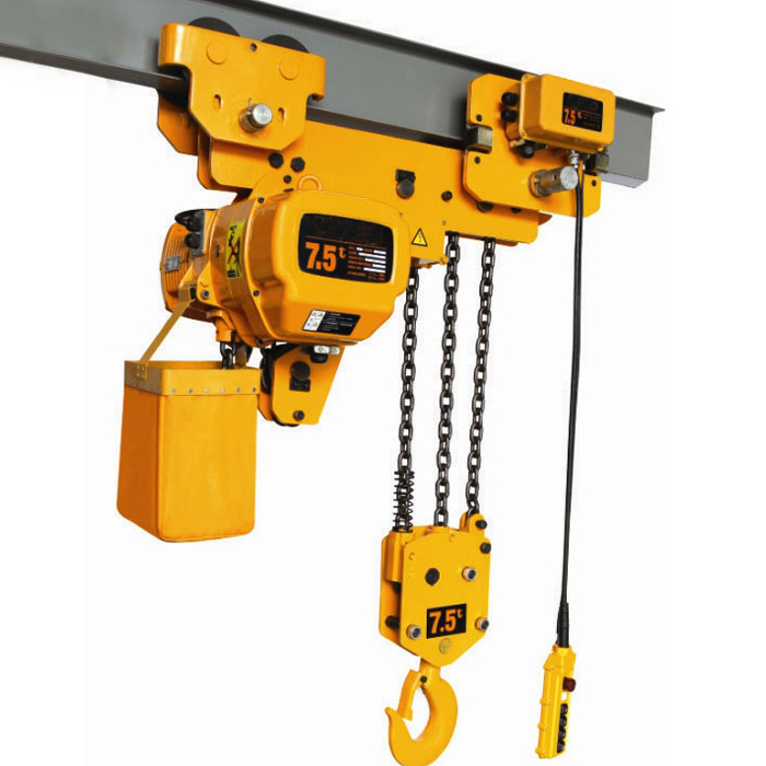 Vanbon 1ton Electric Chain Hoist with Electric Trolley pictures & photos