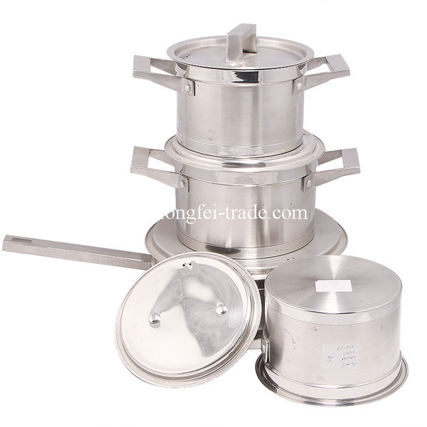 7PCS Stainless Steel Cookware Set, Pot Set, Soup Pots pictures & photos
