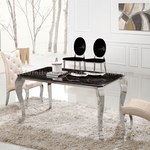 China Cheap Wholesale Price Stainless Steel Dining Table - China ...