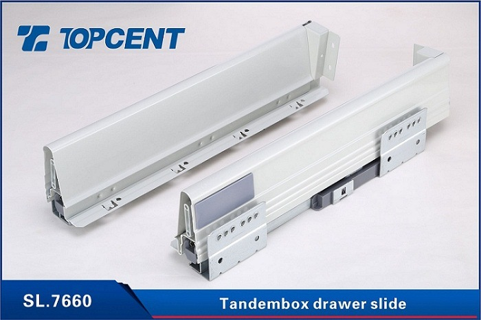 [Hot Item] Kitchen Drawer Tandem Metal Box Undermount Drawer Slides