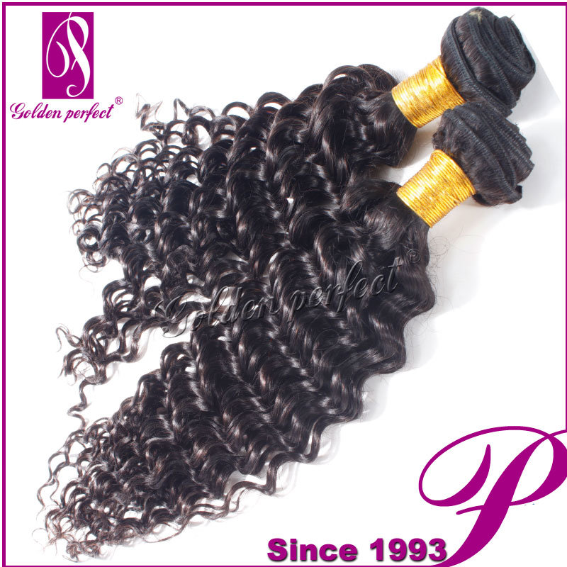 China Discount Peruvian Hair Deep Wave Number 2 Hair Color Weave