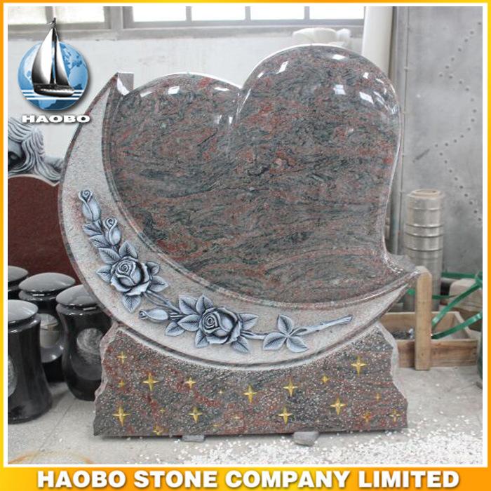 Headstone Quotes   China Granite Heart Design Headstone Quotes Photos