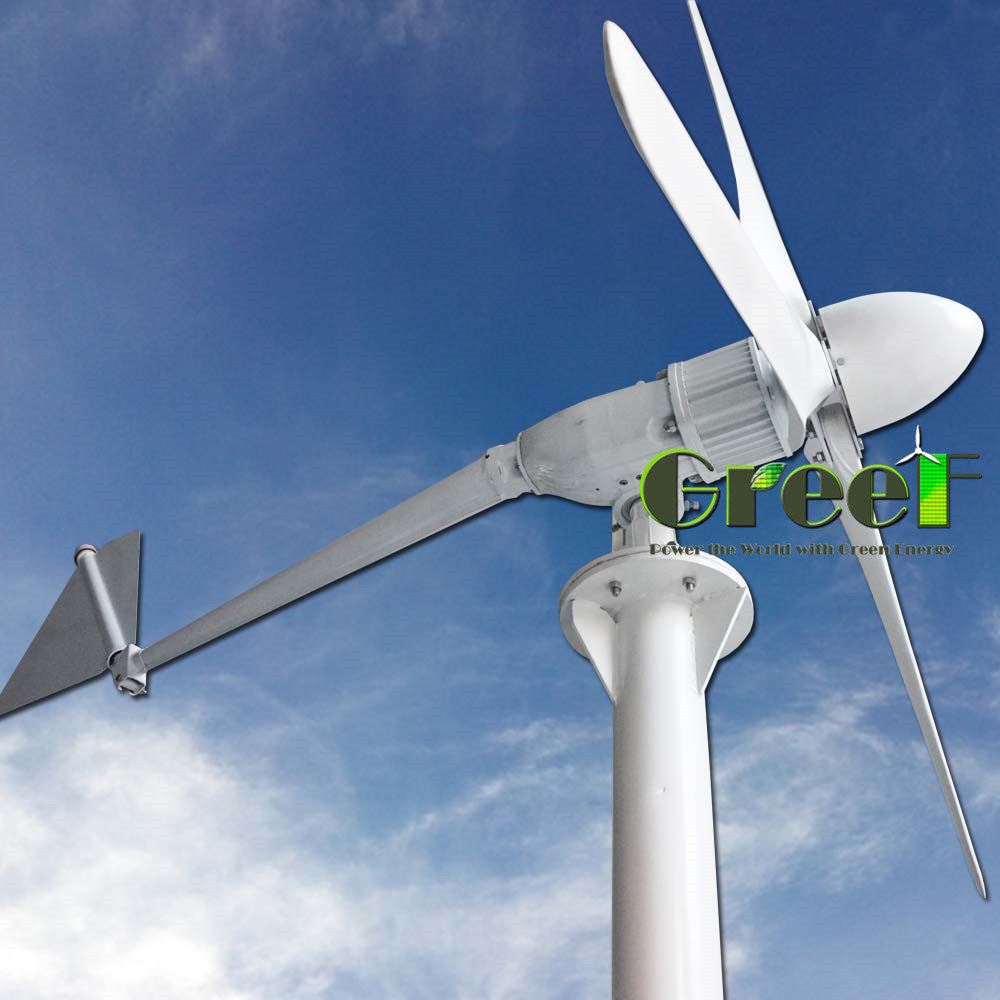 [Hot Item] Low Start Wind Speed 15kw Horizontal Wind Turbine for Rooftuse