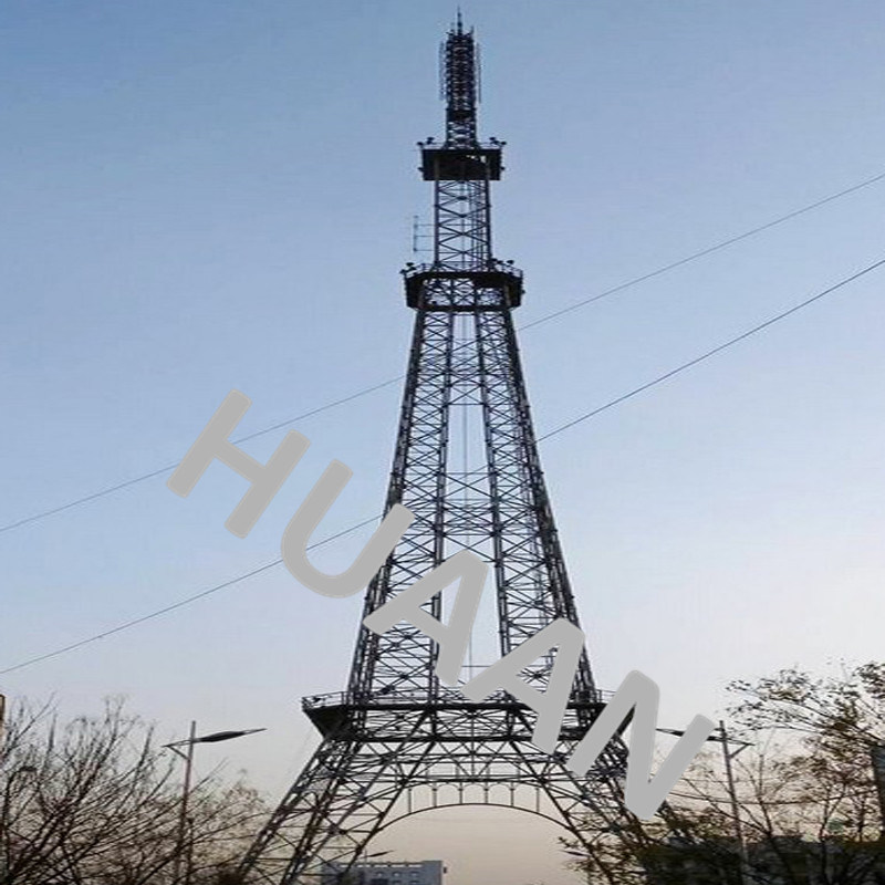 Radio Broadcasting TV Signal Monopole Transmission Tower pictures & photos