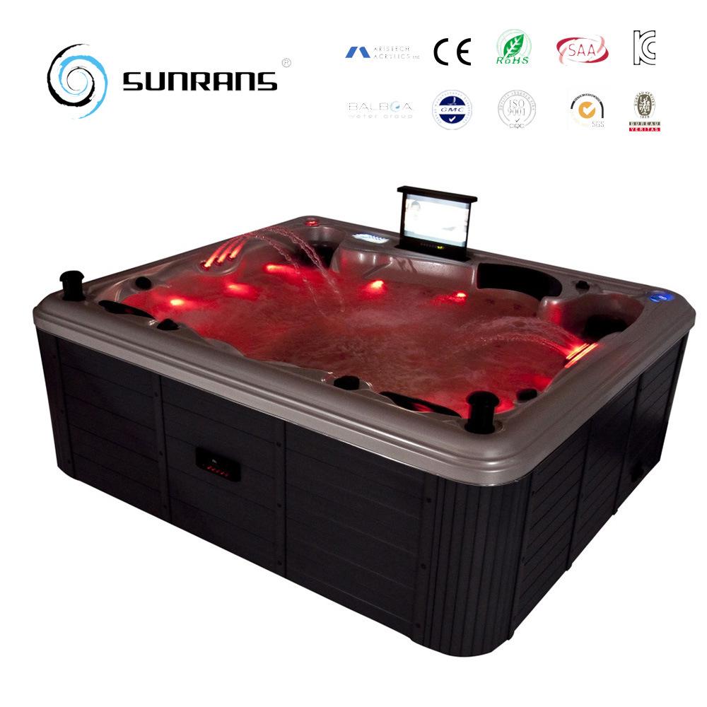 China Clawfoot Bathtub, Corner Acrylic Bathtub with Balboa System ...
