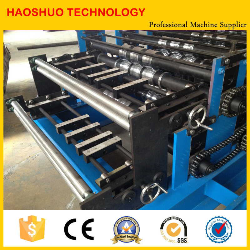 Fully Automatic Double Layer Roll Forming Machine, Production Line pictures & photos
